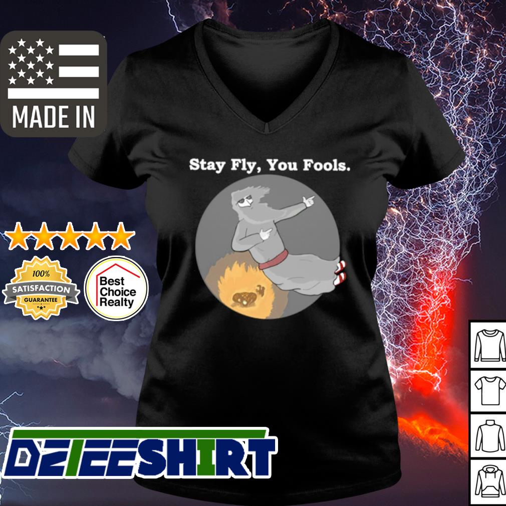 Stay Fly You Fools s v-neck t-shirt