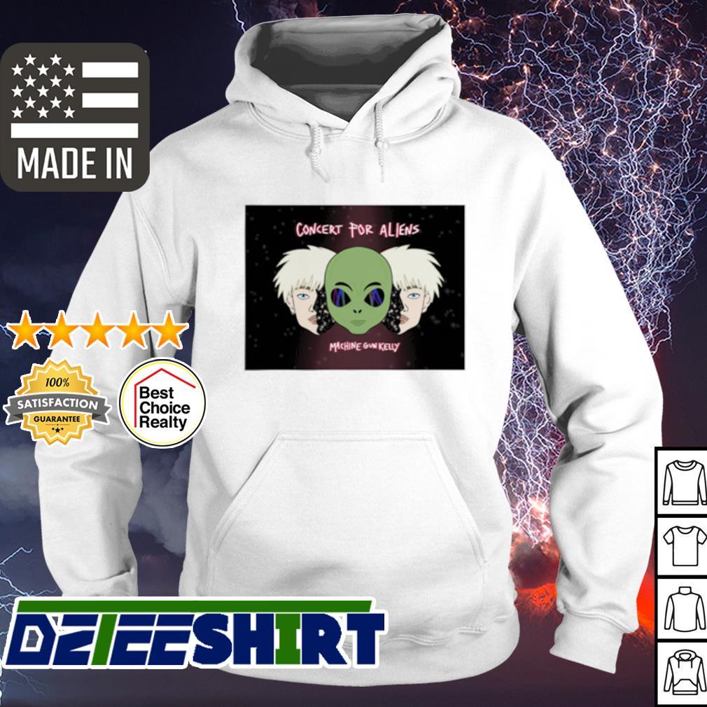 Concert For Aliens Machine Gun Kelly Shirt hoodie