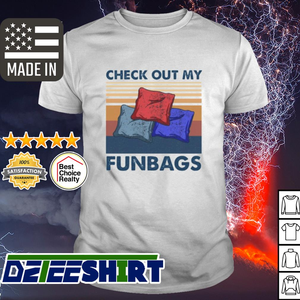 Cornhole check out my funbags vintage shirt