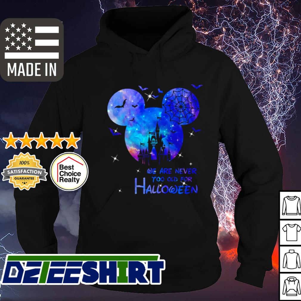 Disney Mickey Mouse we are never too old for Magic s hoodie
