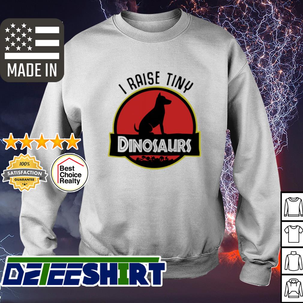 Dog I Raise Tiny Dinosaurs s sweater
