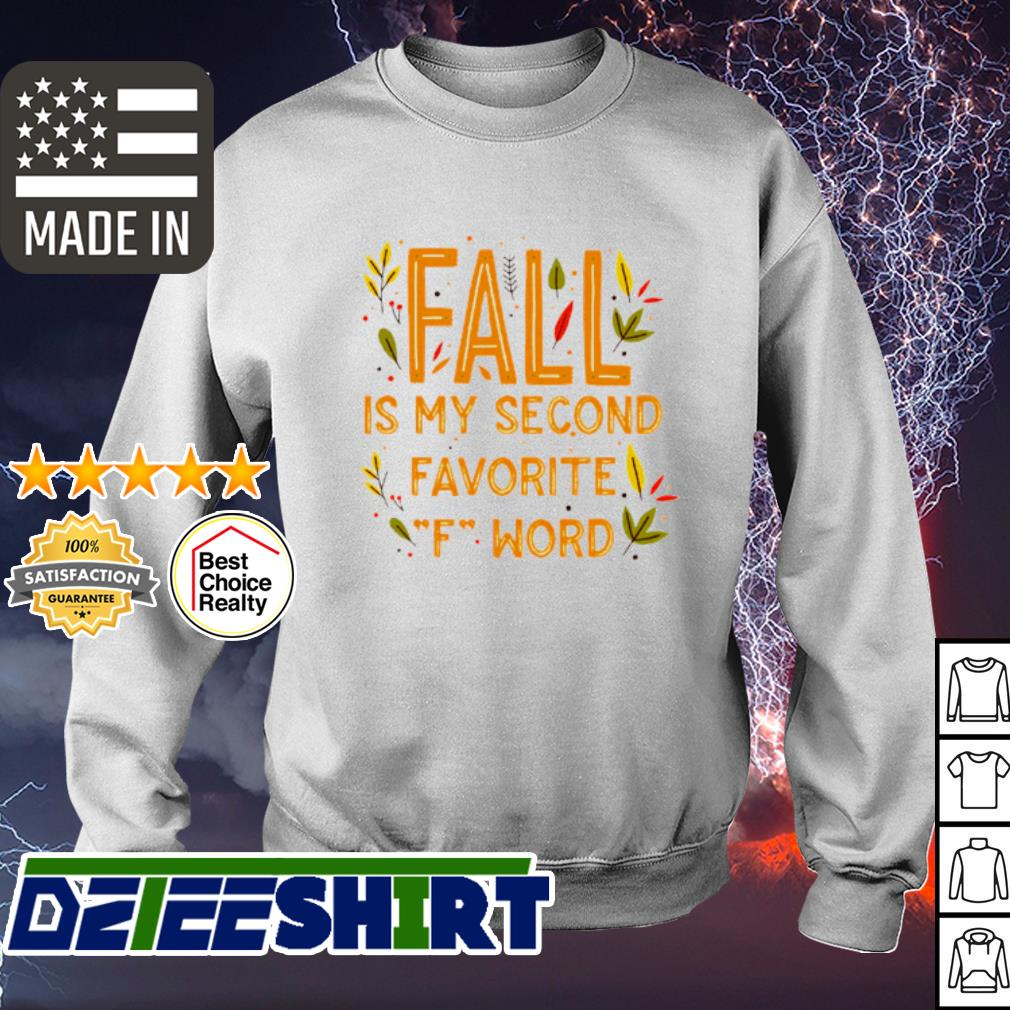 Fall is my second favorite F Word s sweater