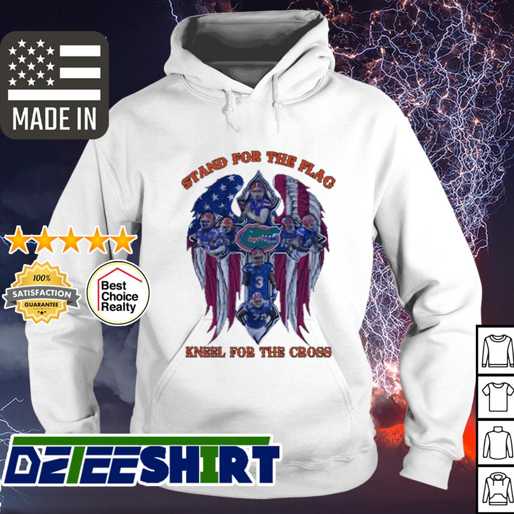 Florida Gators football Stand for the flag kneel for the cross s hoodie