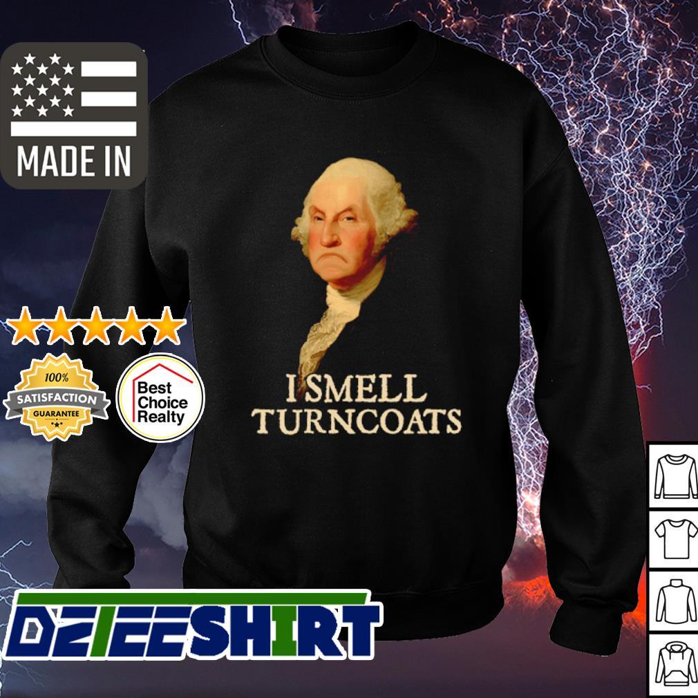 George Washington I smell turncoats s sweater