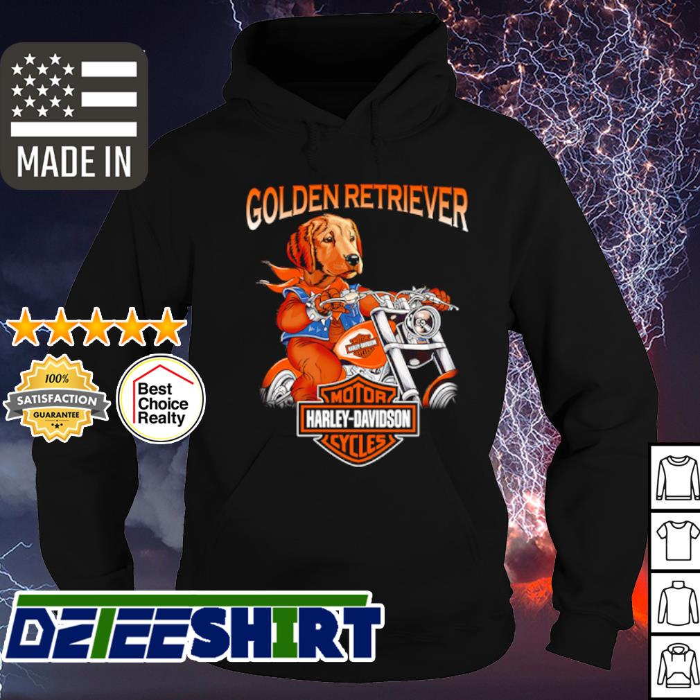 Golden Retriever Harley-Davidson s hoodie