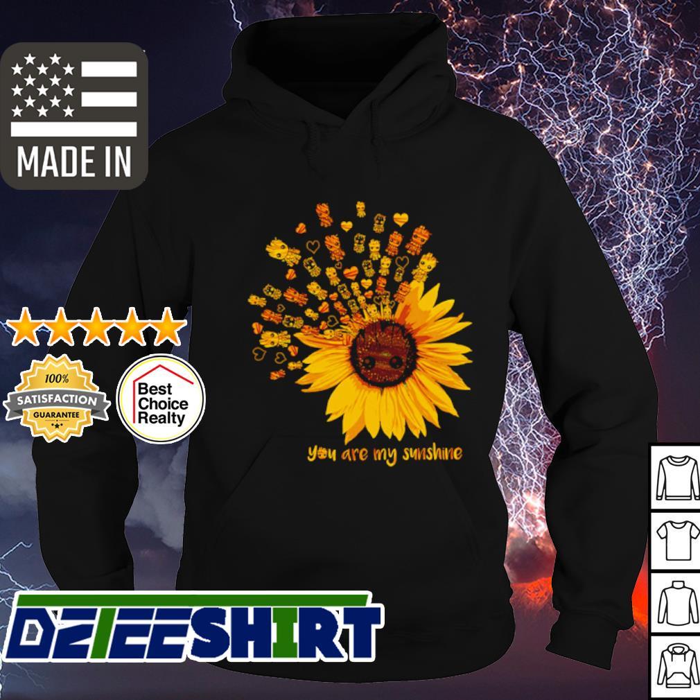 Grood sunflower you are my sunshine s hoodie