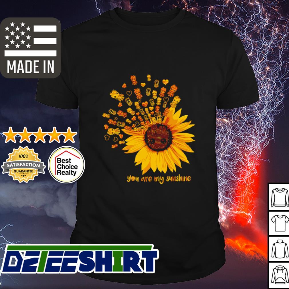 Grood sunflower you are my sunshine shirt