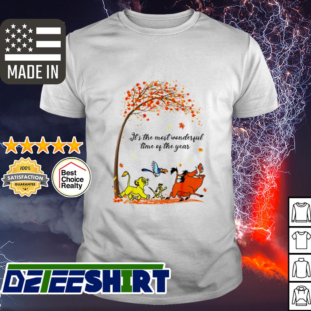 Hakuna Matata It's the most wonderful time of the year shirt