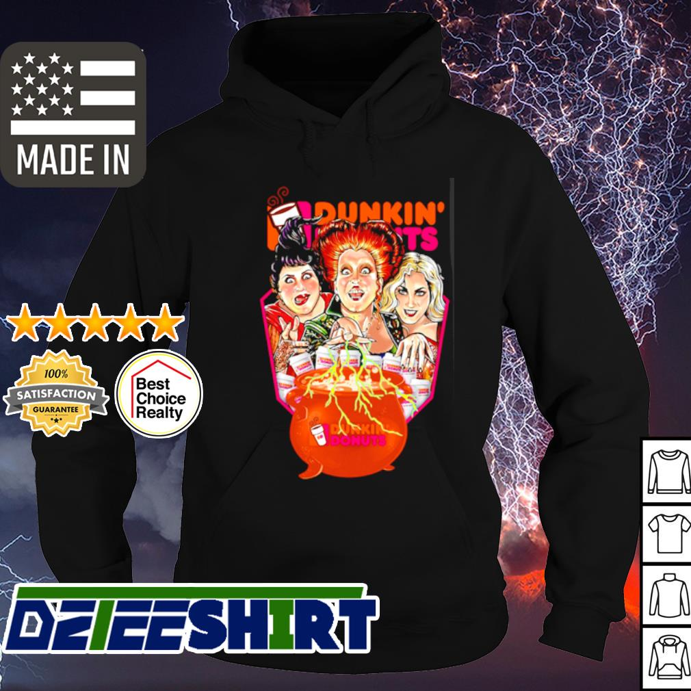 Hocus Pocus Dunkin_ Donuts s hoodie