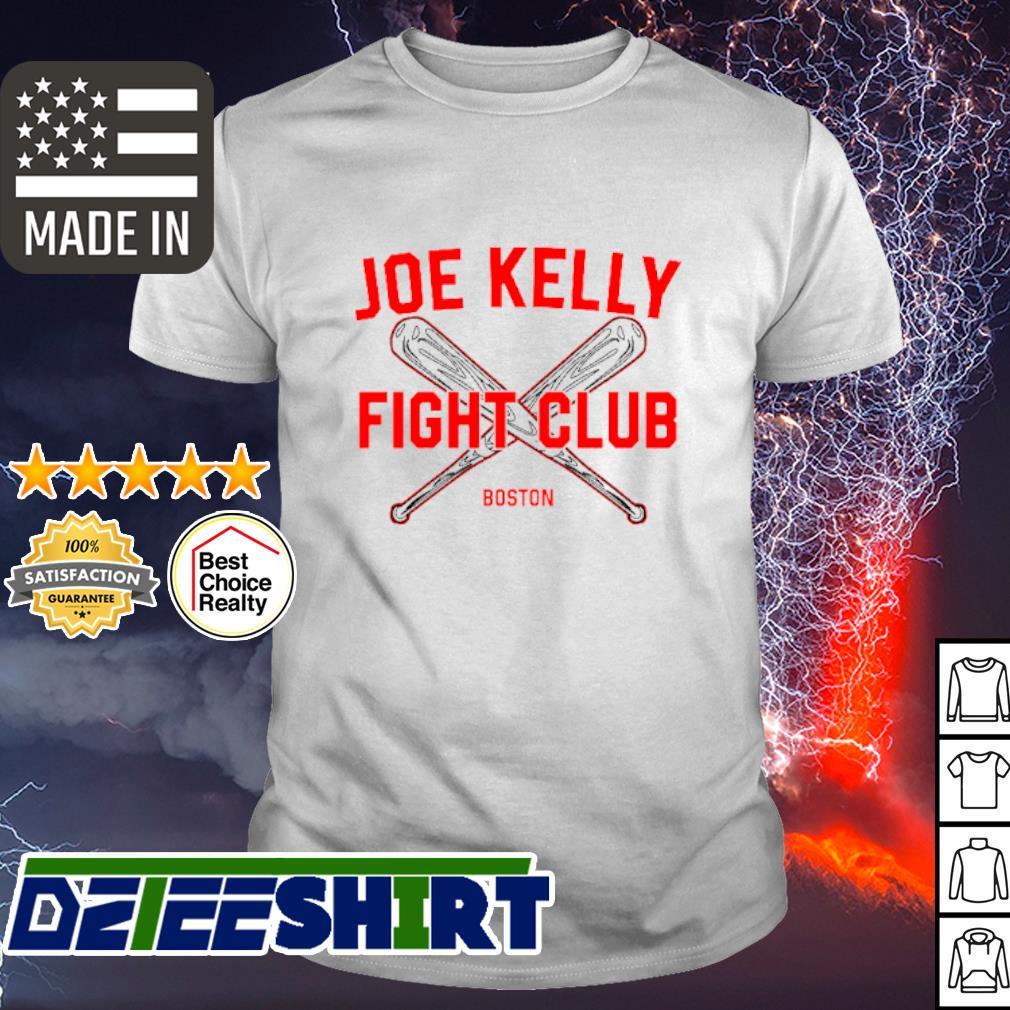 Joe Kelly fight club Boston Red Sox shirt