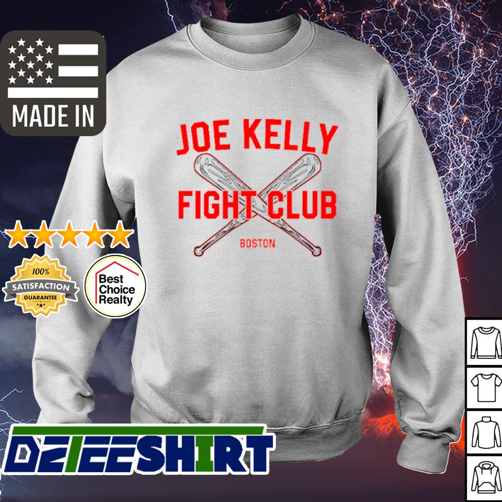 Joe Kelly fight club Boston Red Sox s sweater
