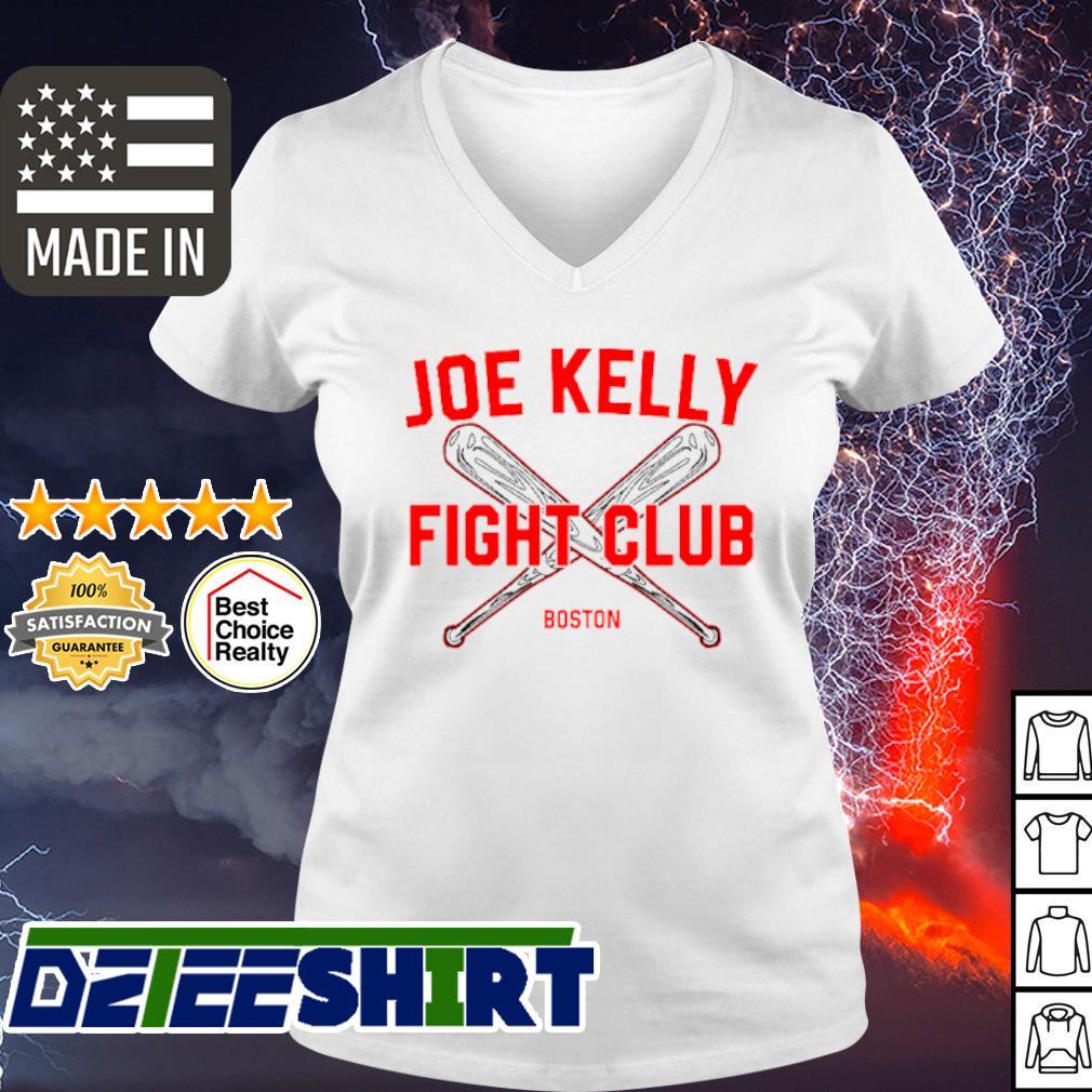 Joe Kelly fight club Boston Red Sox s v-neck t-shirt