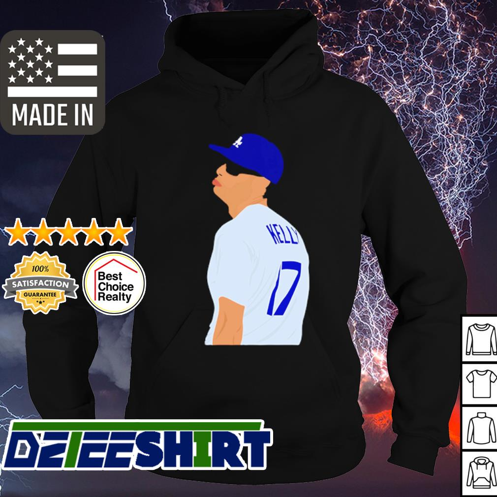 Joe Kelly Los Angeles Dodgers signature s hoodie