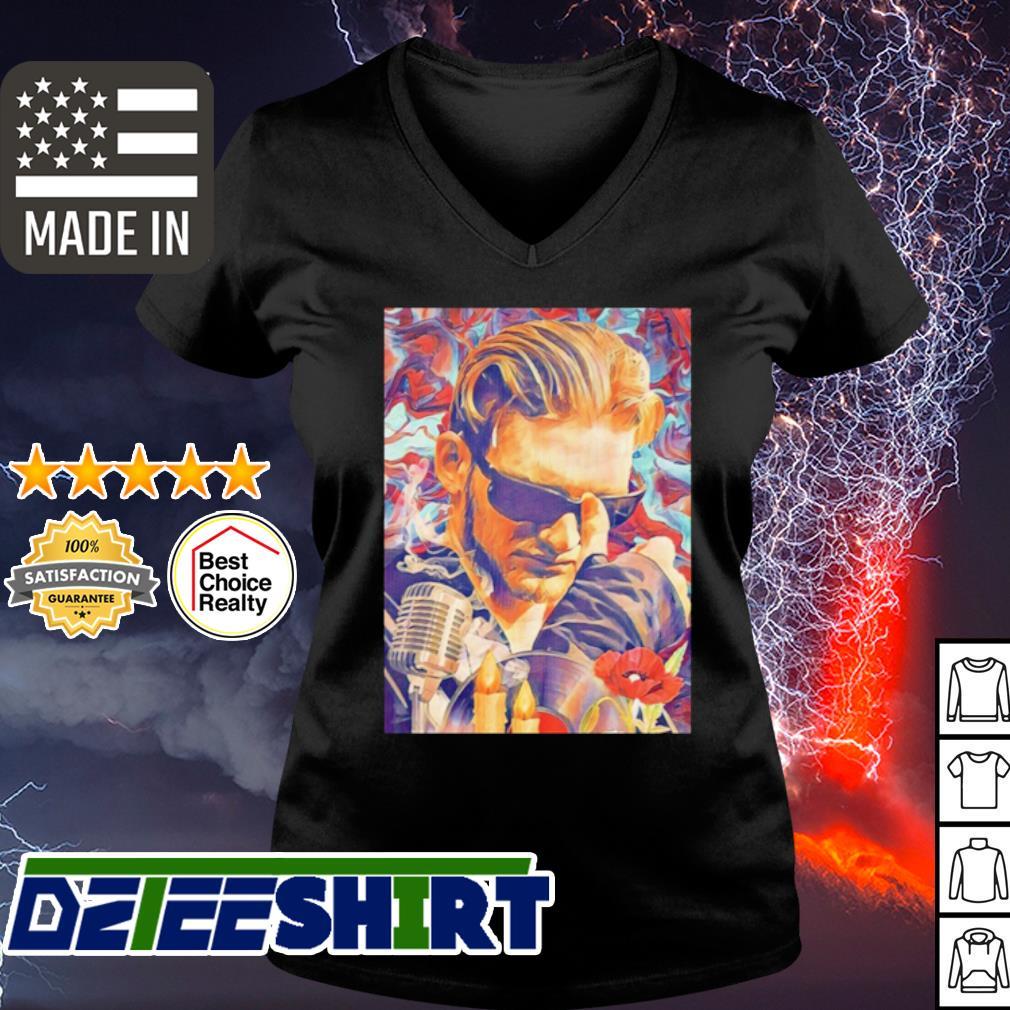 Layne staley posters fine art america s v-neck t-shirt