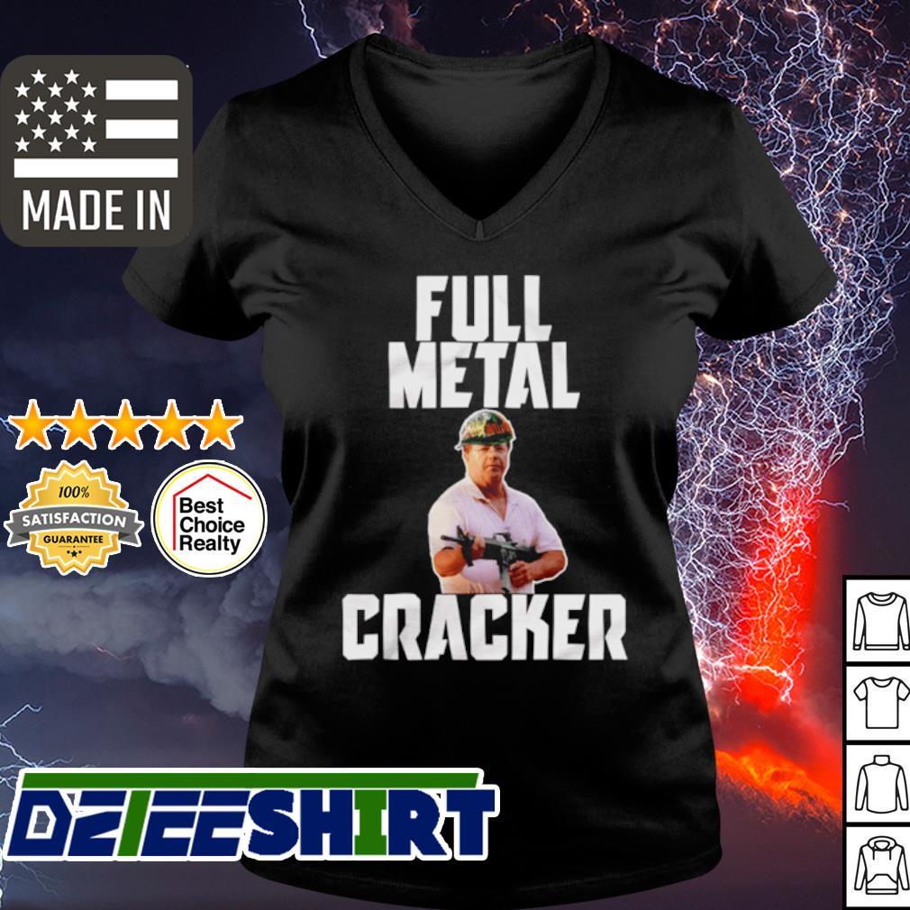 Mark and Patricia McCloskey full metal cracker s v-neck t-shirt