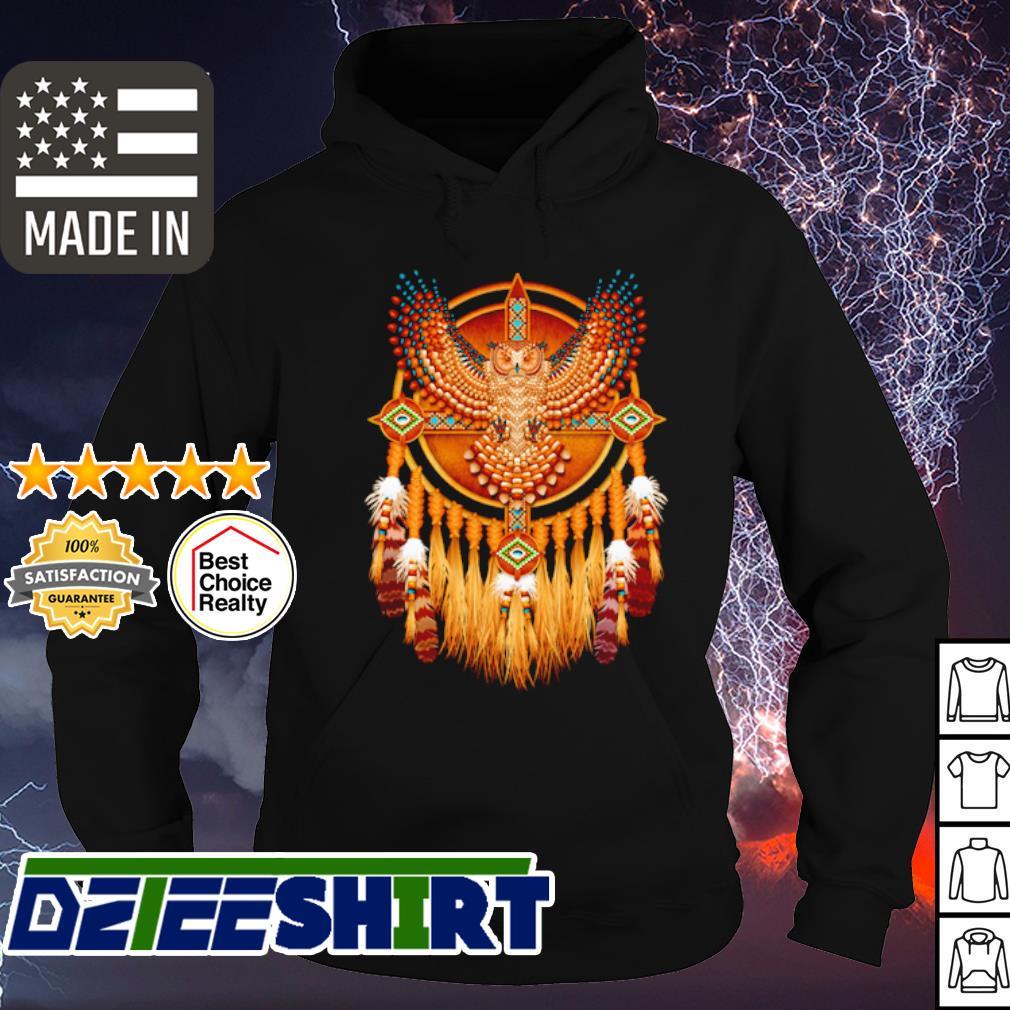Native Owl Totem s hoodie