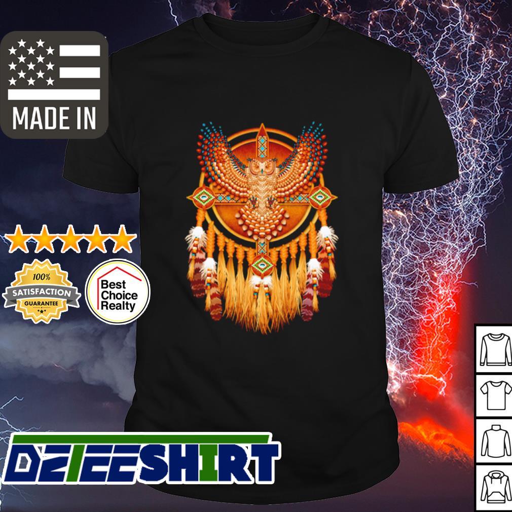 Native Owl Totem shirt