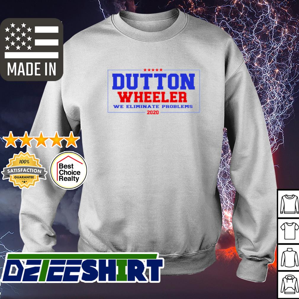 Official Dutton Wheeler we eliminate problems 2020 s sweater
