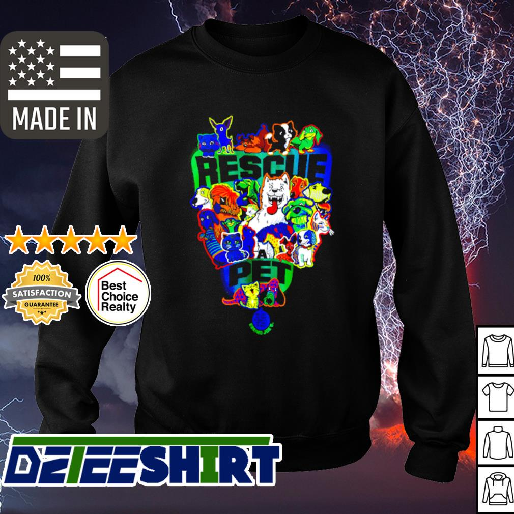 Official Rescue pet s sweater