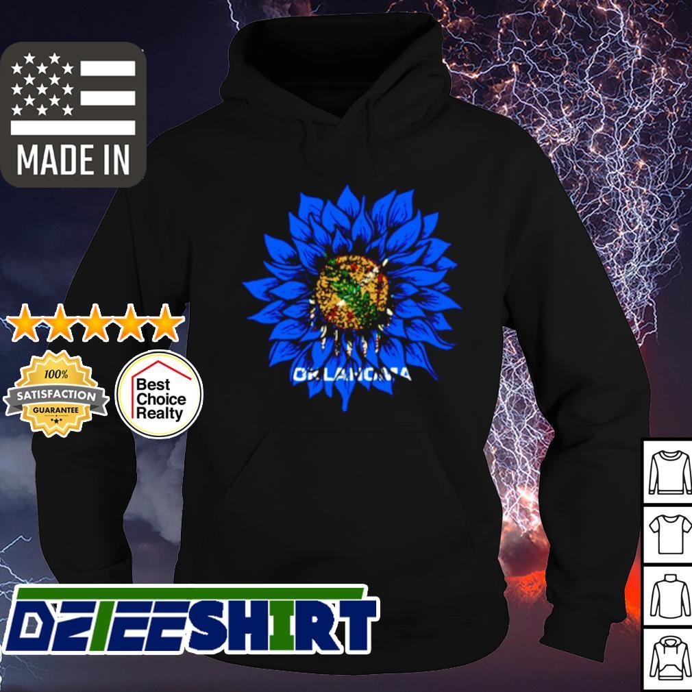 Sunflower Oklahoma flag s hoodie