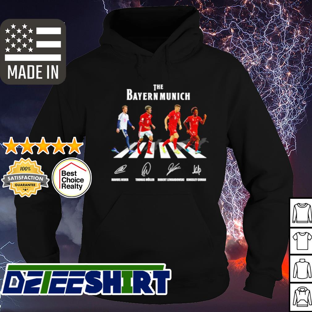 The Bayern Munich Abbey Road signature s hoodie