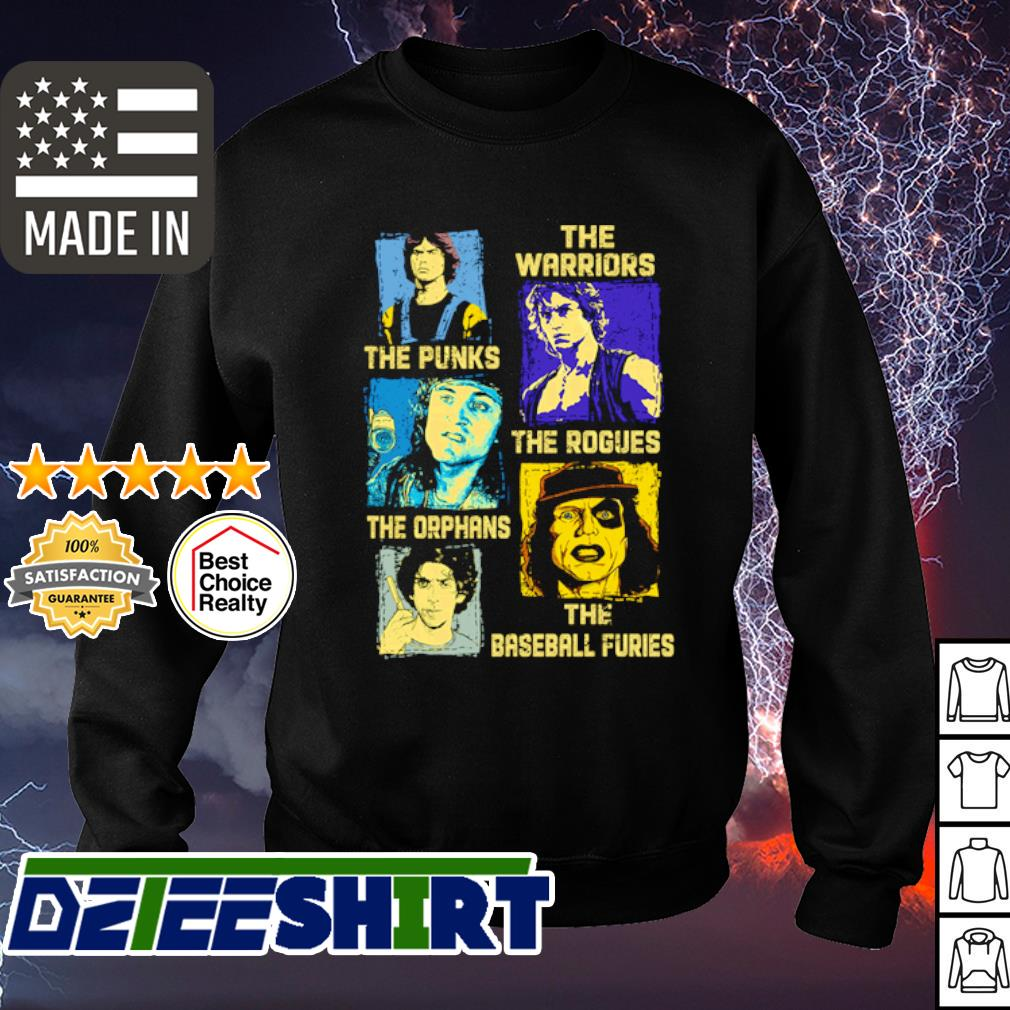 The Warriors the Punks the Rogues the Orphans the baseball furies s sweater