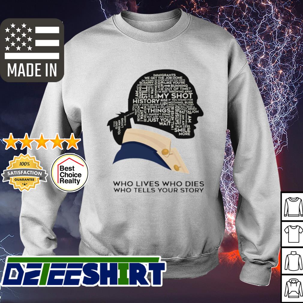 Who lives who dies who tells your story s sweater