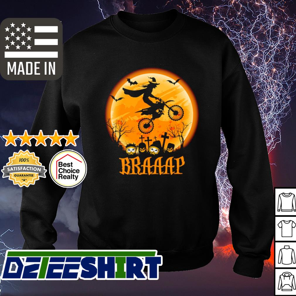 Witch Braap Motocross Halloween s sweater
