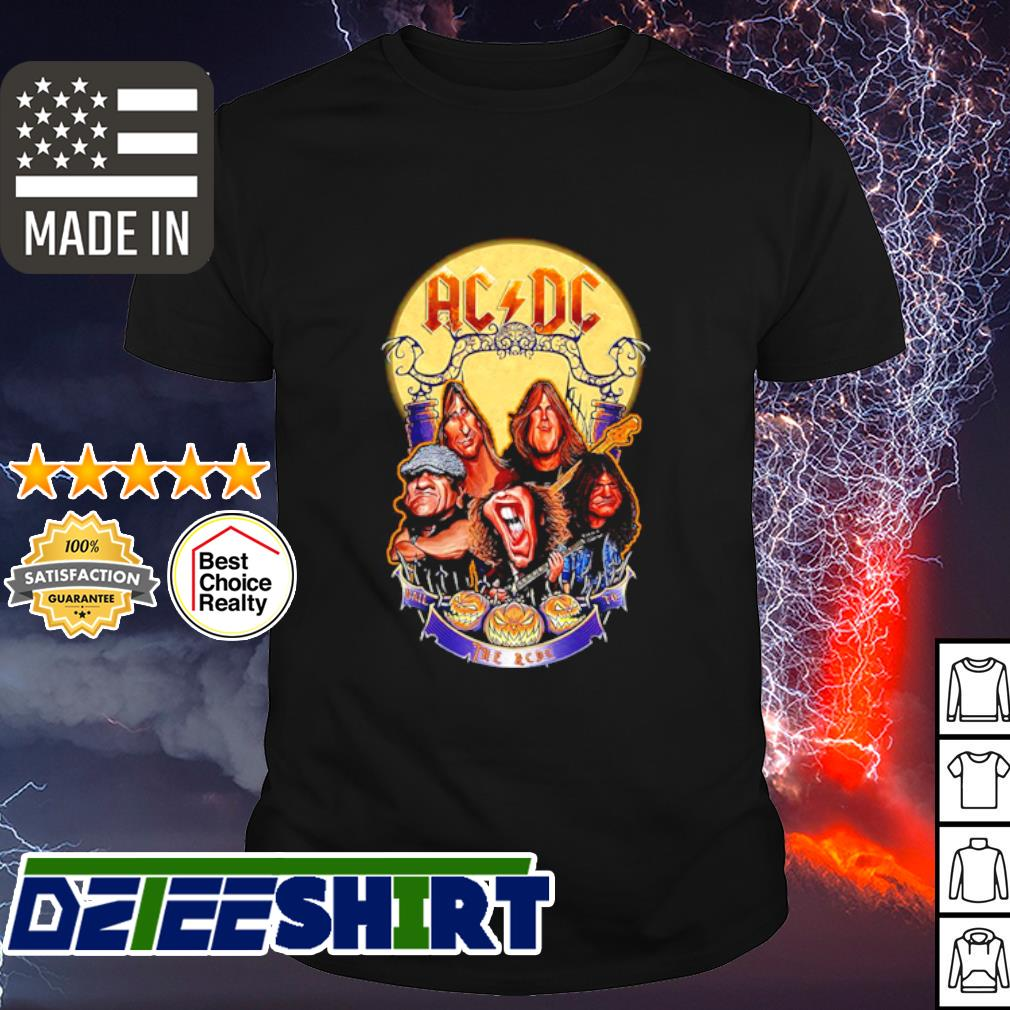 AC DC Hall the AC DC to Halloween shirt