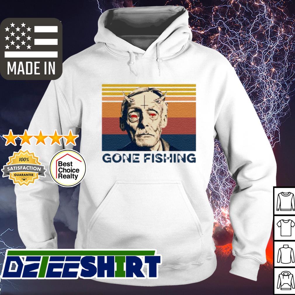 Albert Fish gone Fishing vintage s hoodie