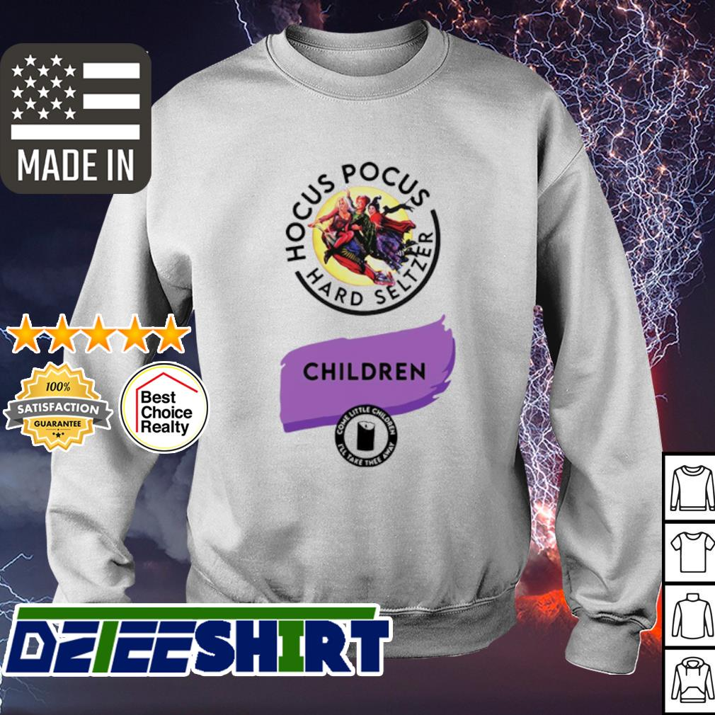 Hocus Pocus hard seltzer children Halloween s sweater