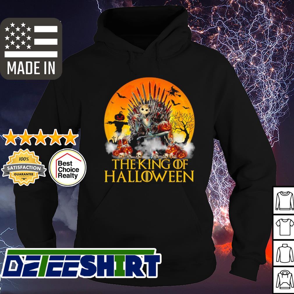 Jack Skellington the king of Halloween s hoodie