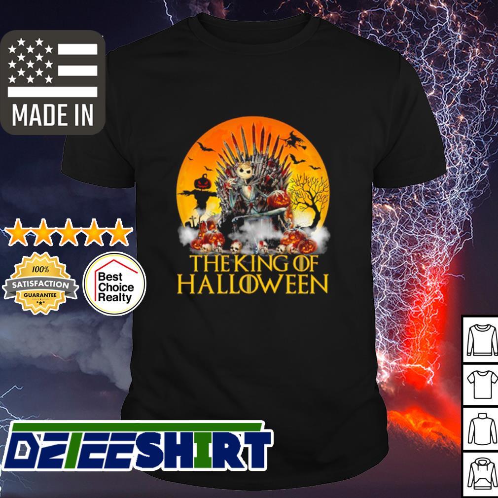 Jack Skellington the king of Halloween shirt