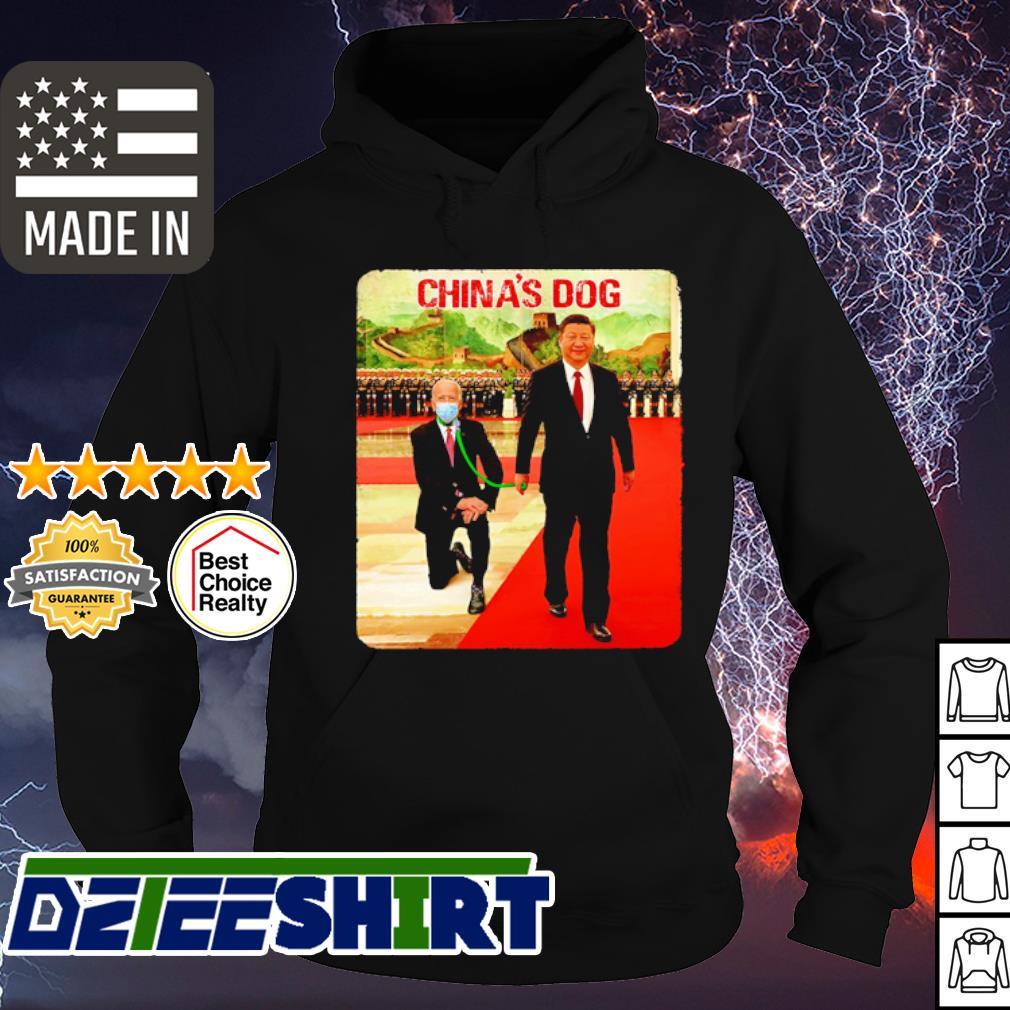 Joe Biden China's Dog s hoodie