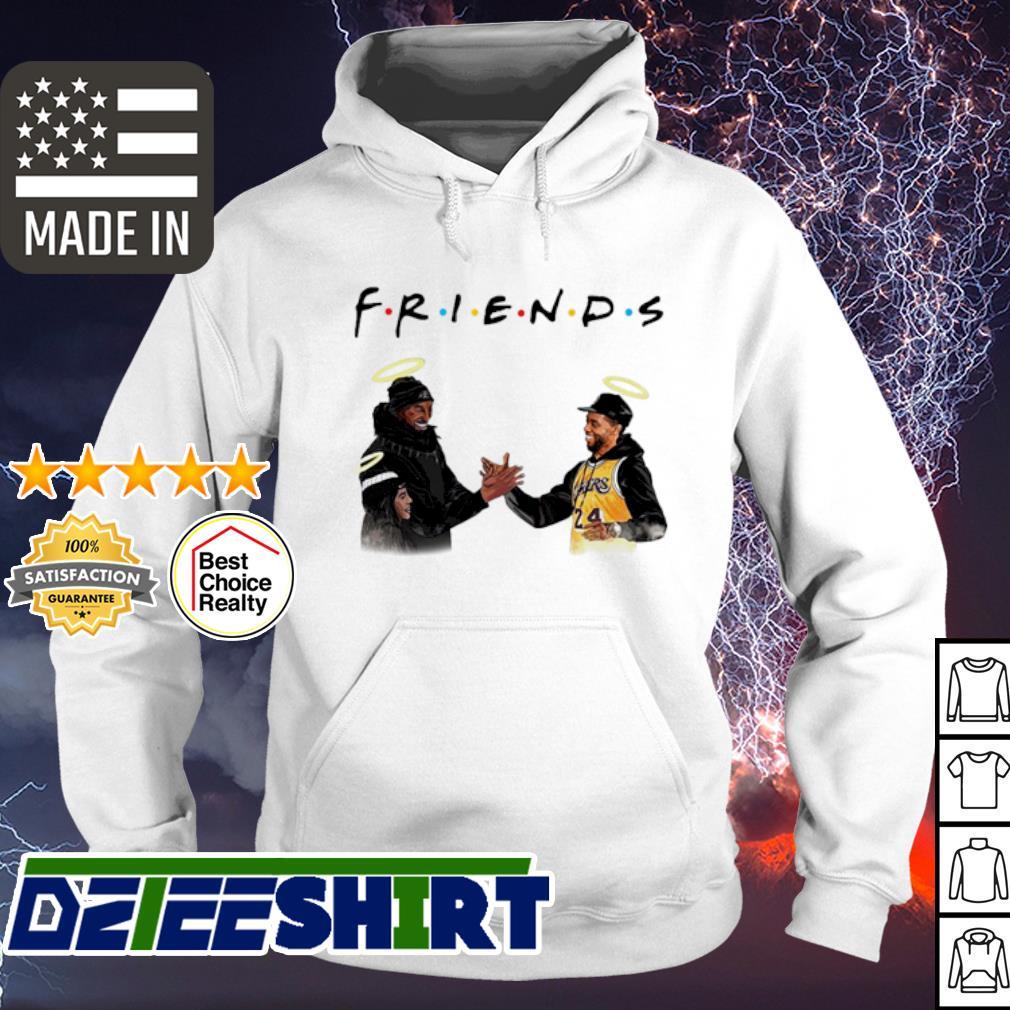 Kobe Bryant and Chadwick Boseman Friends s hoodie