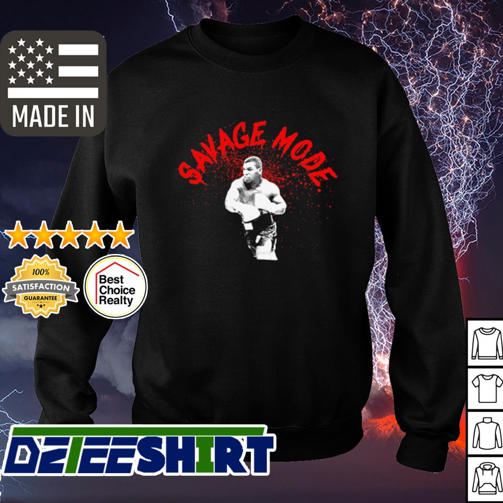 Mike Tyson sagave mode s sweater