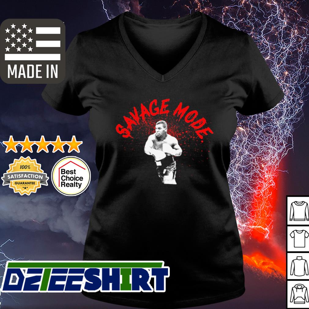 Mike Tyson sagave mode s v-neck t-shirt