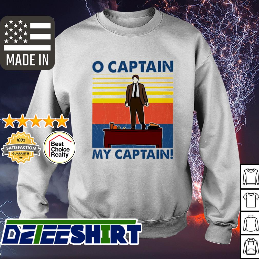 O captain my captain vintage s sweater