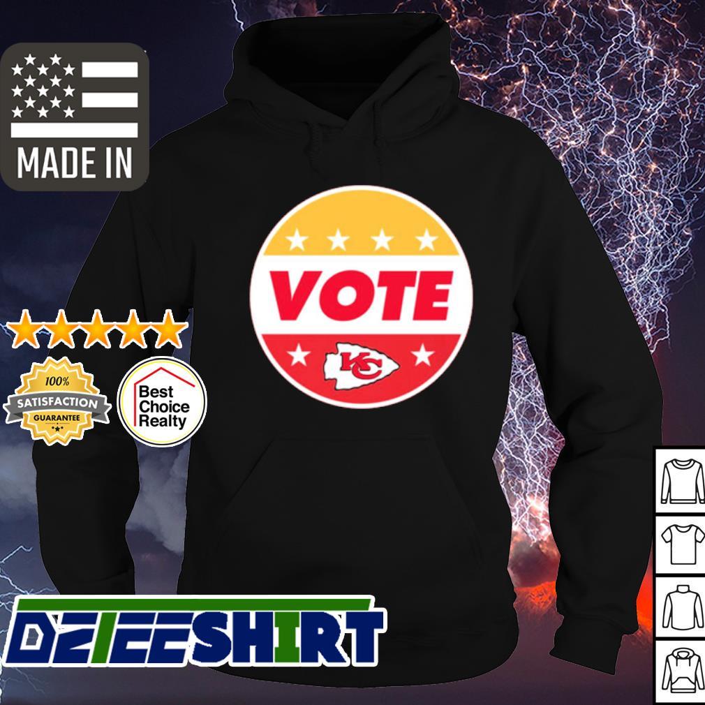 Patrick Mahomes Kansas City Chiefs Vote Shirt hoodie