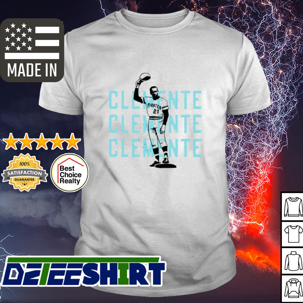 Roberto Clemente 21 Pittsburgh Pirates Baseball shirt