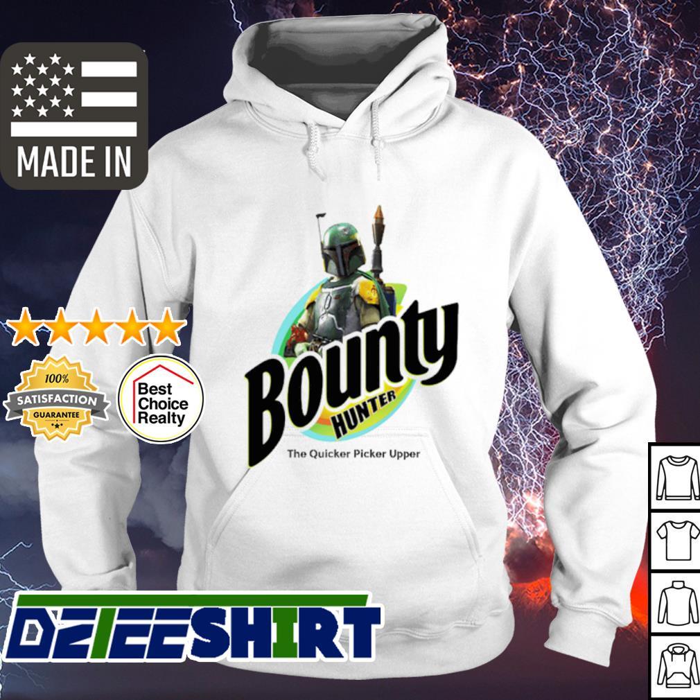 The Mandalorian Bounty hunter the quicker picker upper s hoodie