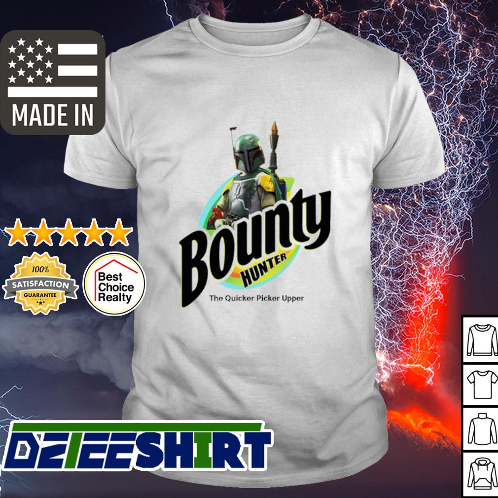 The Mandalorian Bounty hunter the quicker picker upper shirt