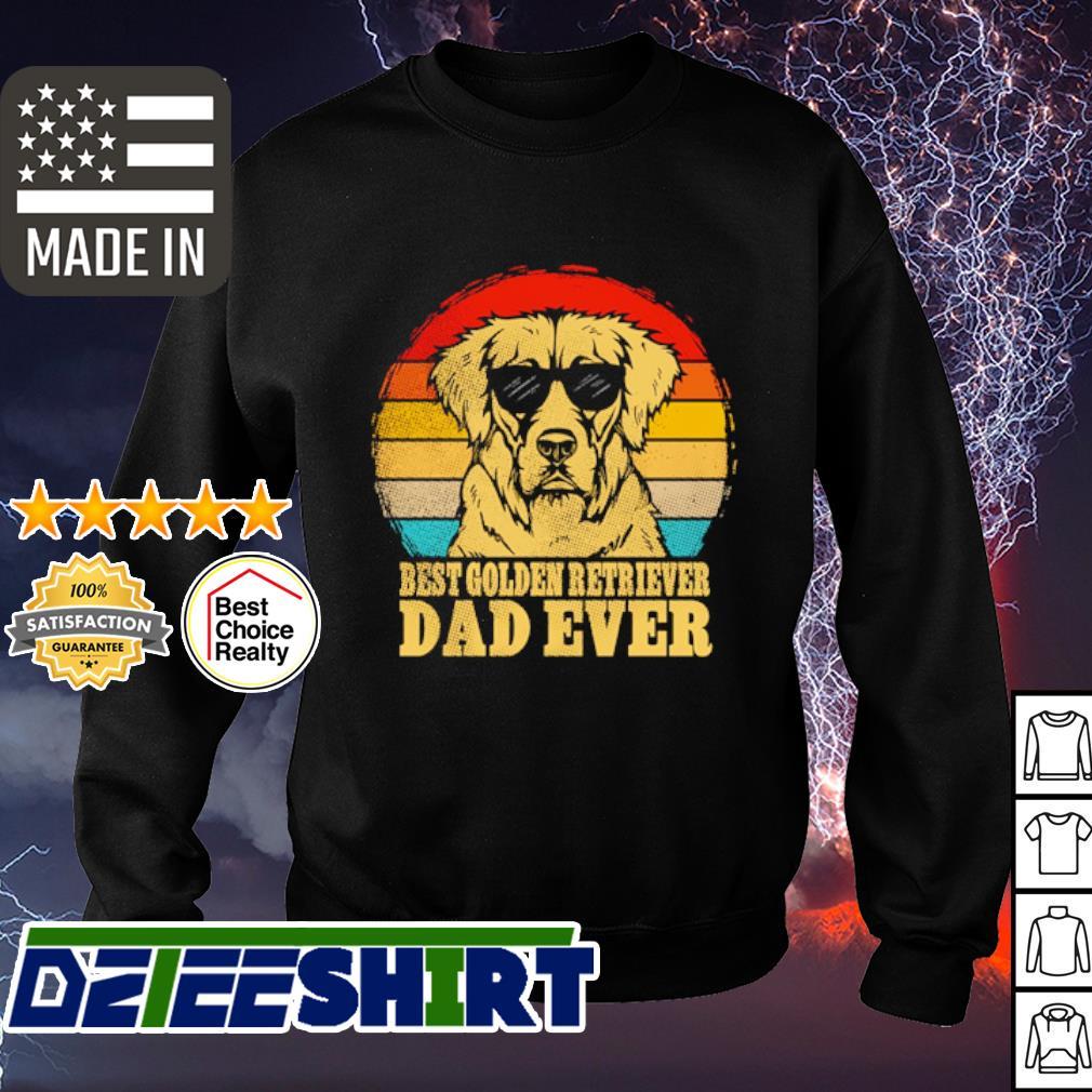 Best golden retriever dad ever vintage s sweater