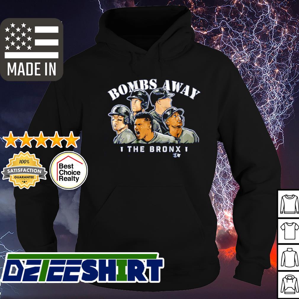 Bombs away the bronx s hoodie