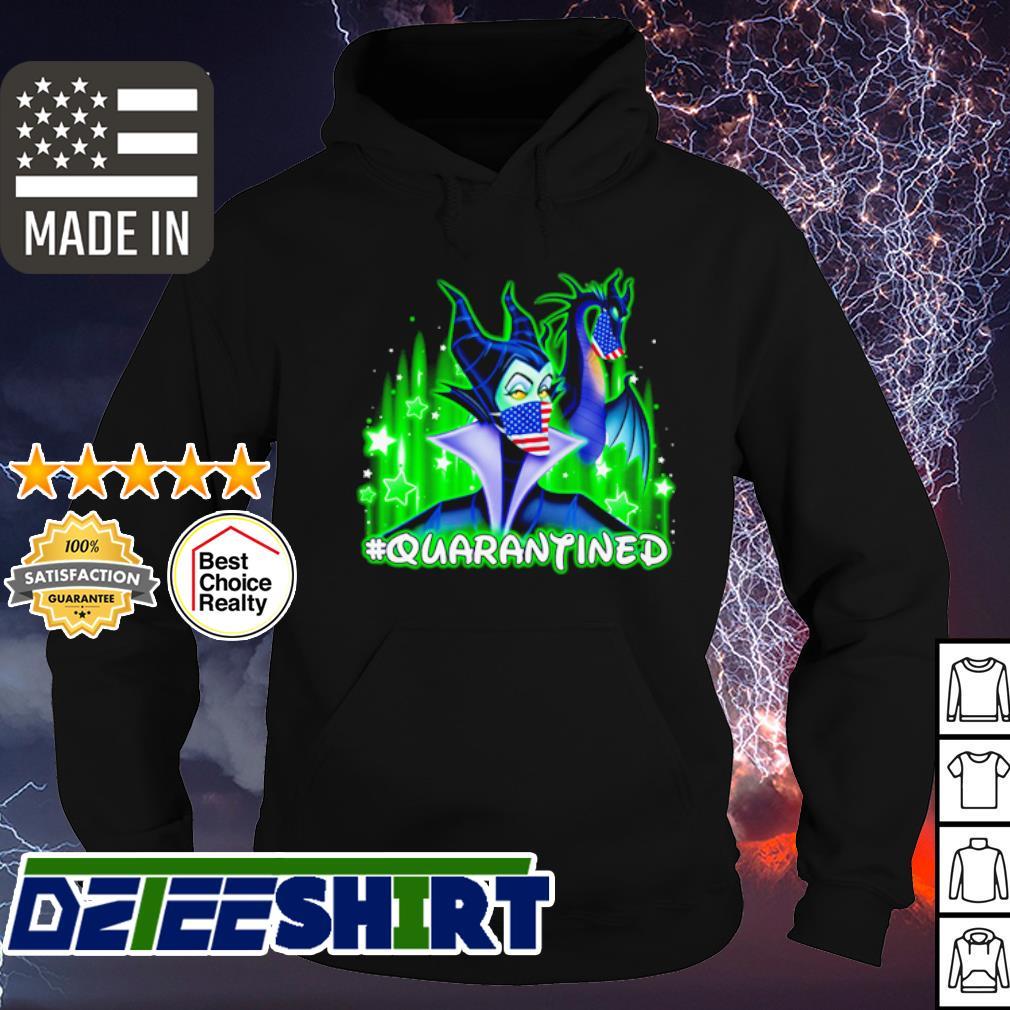 Disney Maleficent mask quarantined coronavirus s hoodie