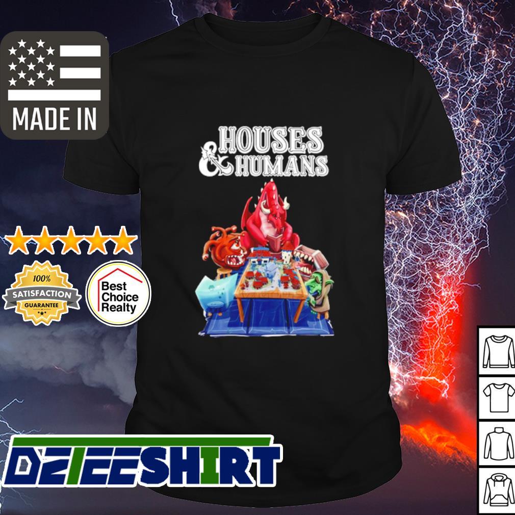 Houses and Humans Cartoon shirt