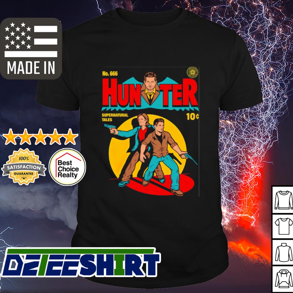 Hunter comic hunter supernatural tales shirt
