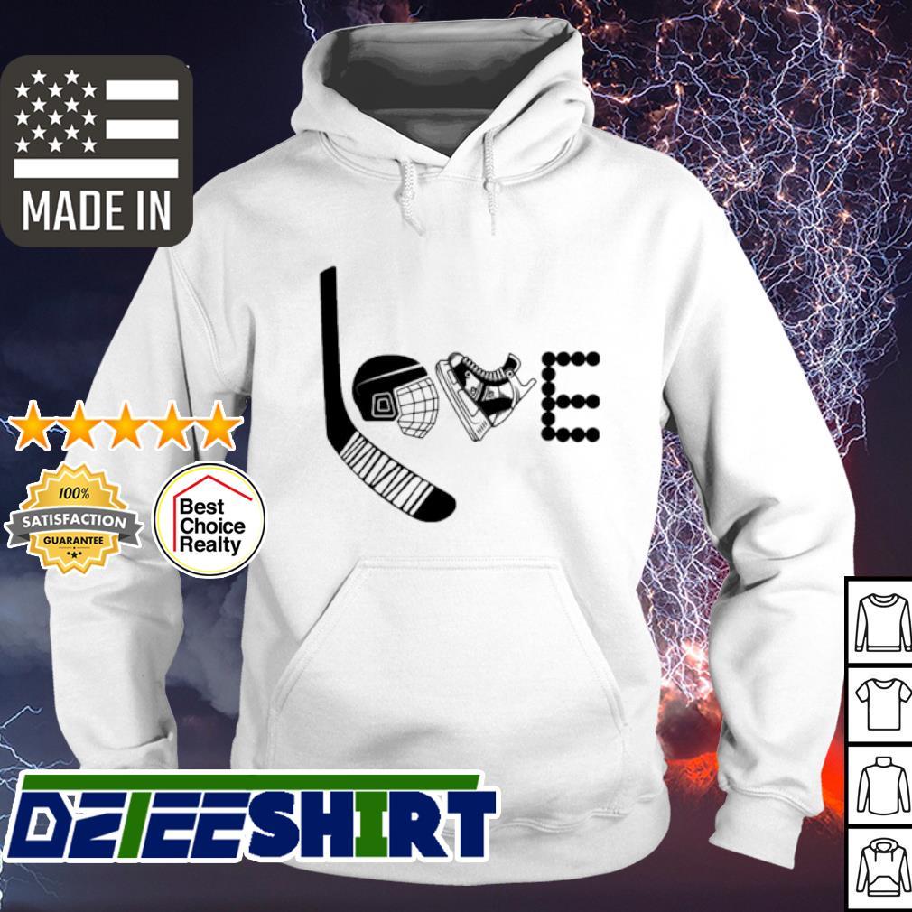 Love Hockey s hoodie