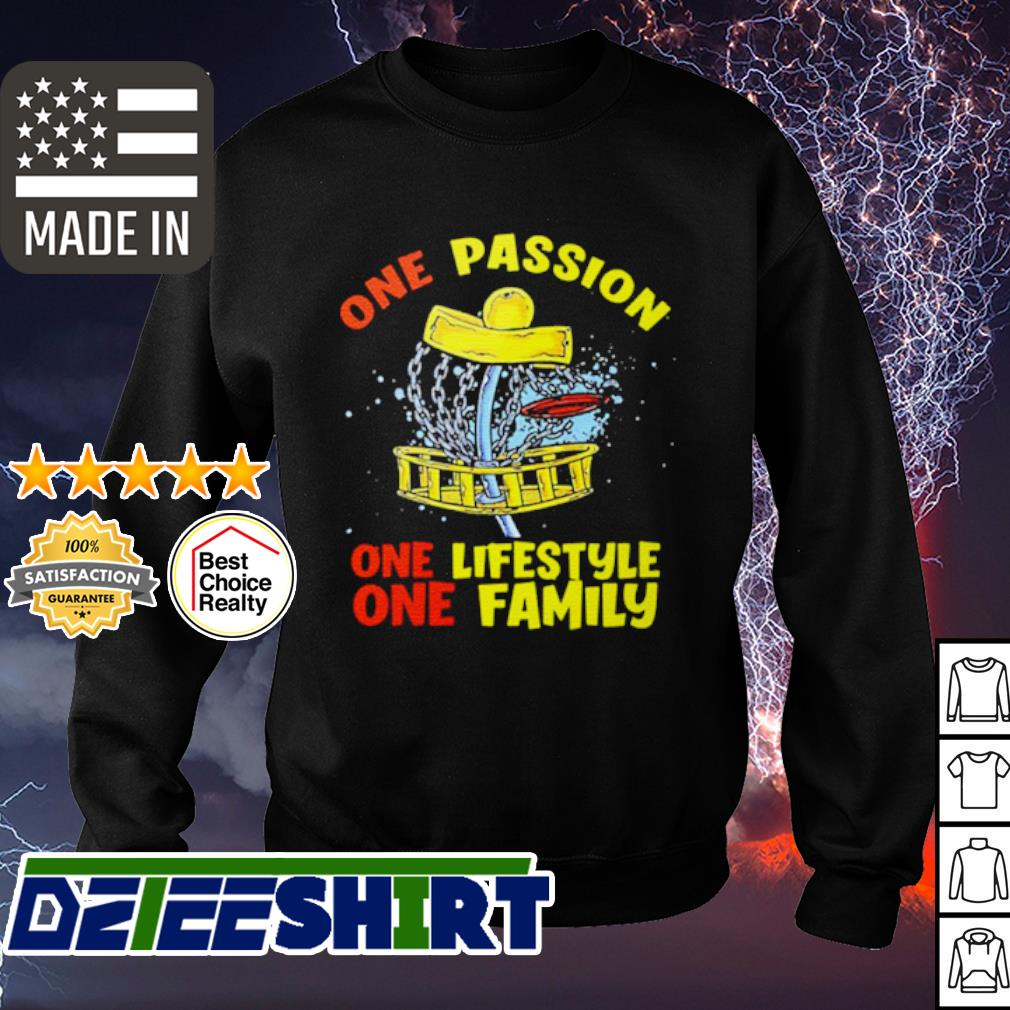 One passion one lifestyle one family s sweater