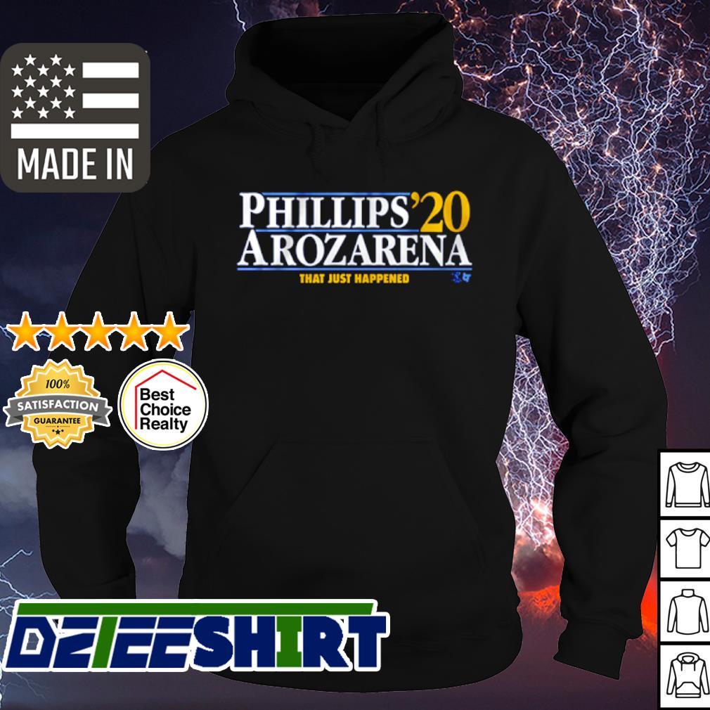 Phillips Arozarena 2020 that just happened s hoodie